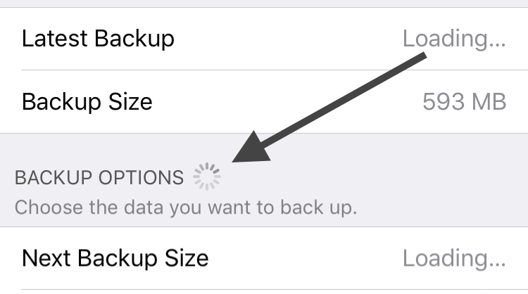 how to force icloud backup iphone 7