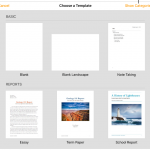 Pages templates