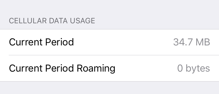 cellular data use