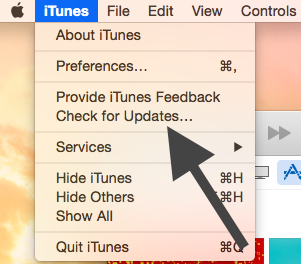 iTunes Mac Update
