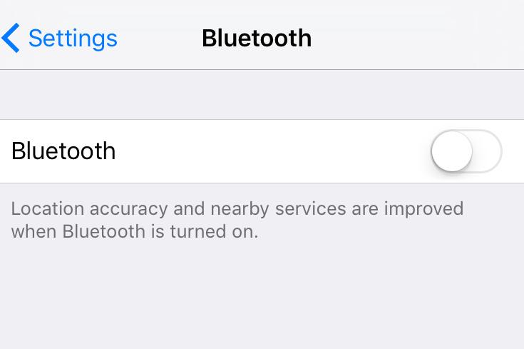 Ios Cant Turn On Bluetooth Fix Macreports