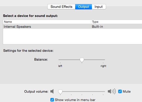 how to change audio on mac to airport settings