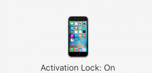 activation lock is on