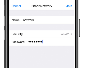iOS: Unable to Join Hidden Wi-Fi Networks Automatically