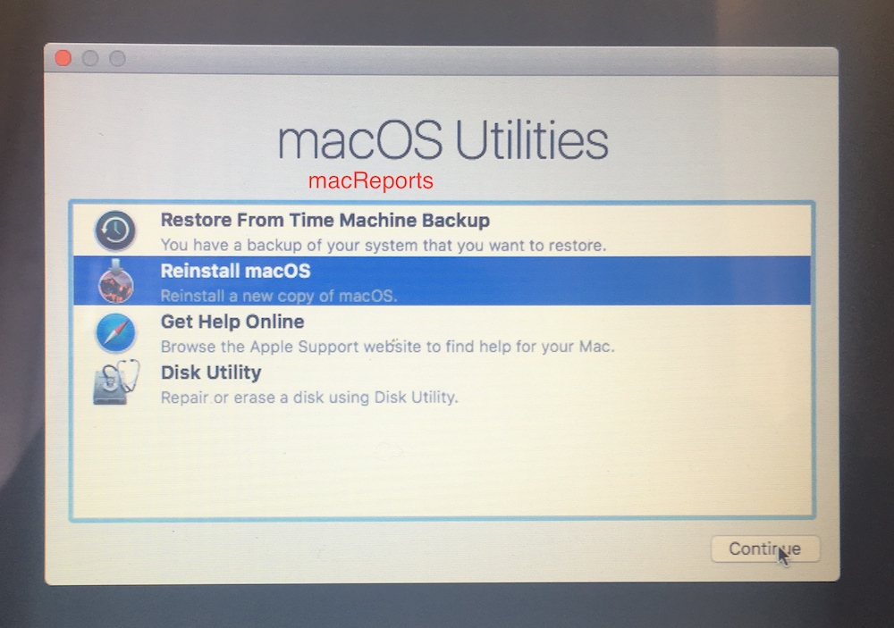 How To Reinstall Mac OS on Your Mac - macReports