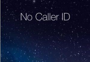 no caller id calls