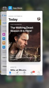 kill the app store app