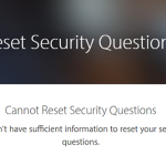 Cannot Reset Apple ID Security Questions? Fix
