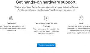 Get hardware help