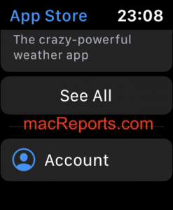 Cancel subscriptions on Apple Watch