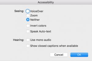 turn off Zoom via iTunes