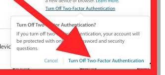 How to Turn Off Two-Factor Authentication? - macReports