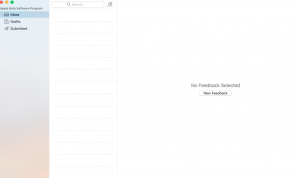 macOS new feedback
