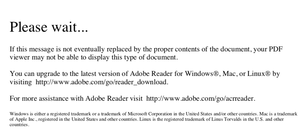 adobe acrobat reader could not open