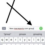 group messages iOS