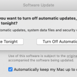 Mac Automatic Updates