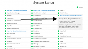 Mac: Cannot Connect to App Store, Fix - macReports