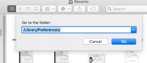 library preferences bluetooth preferences
