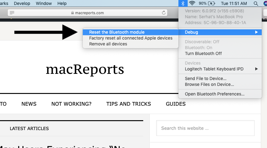 Mac Bluetooth Not Working? Fix - macReports