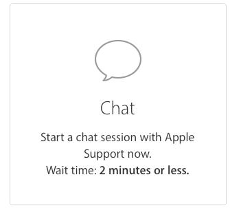 Apple chat