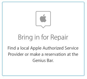 Genius Bar Reservation