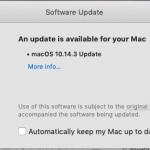 macOS update