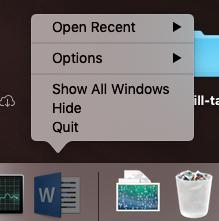 quit apps
