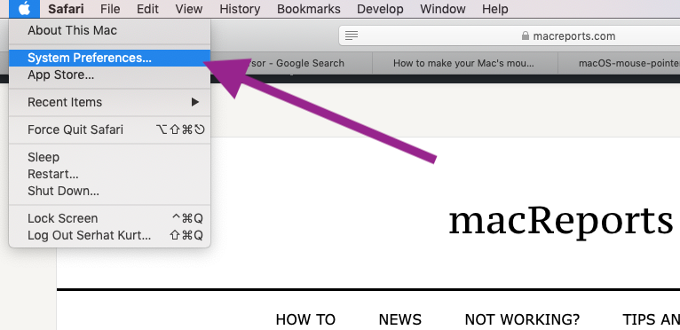 How To Change macOS Cursor Size - macReports