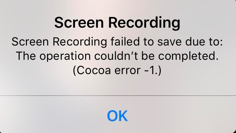 Screen Recording Failed To Save Error Fix - macReports
