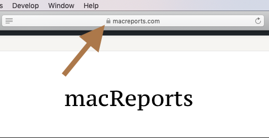 Safari Says: Not Secure  What Does It Mean? - macReports
