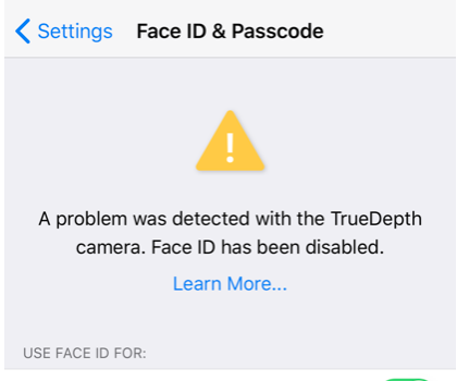Face ID Disabled? How To Fix - macReports