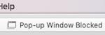 Safari pop-up