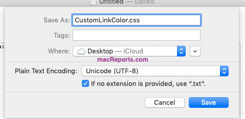 How To Change Color Of Visited Links In Safari (macOS