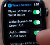 Apple Watch Wake Screen