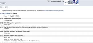 Mexico trademark