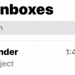 No Sender No Subject Emails