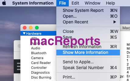 Macos Hardware Info App