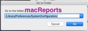 macOS Go To Folder