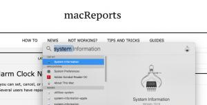 Spotlight system information