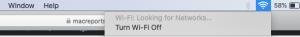turn off wifi