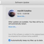 Catalina Upgrade now