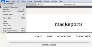 Mac Restart