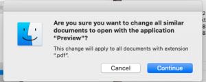 PDF confirmation