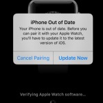 iPhone Out of Date error