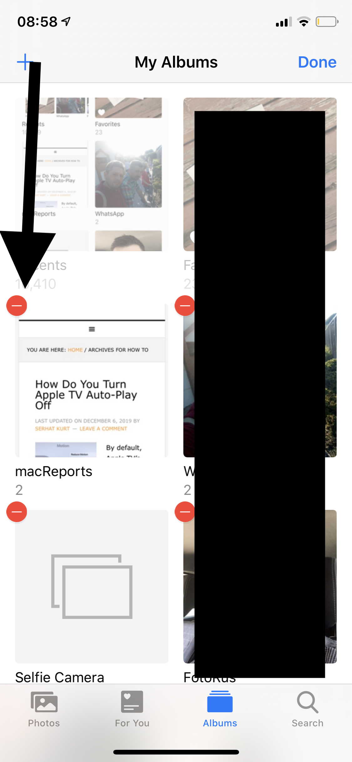 How To Delete Photo Albums On iPhone and Mac - macReports