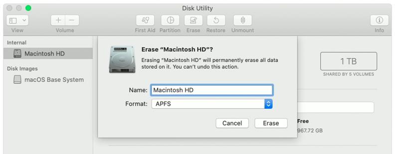 Erase Mac