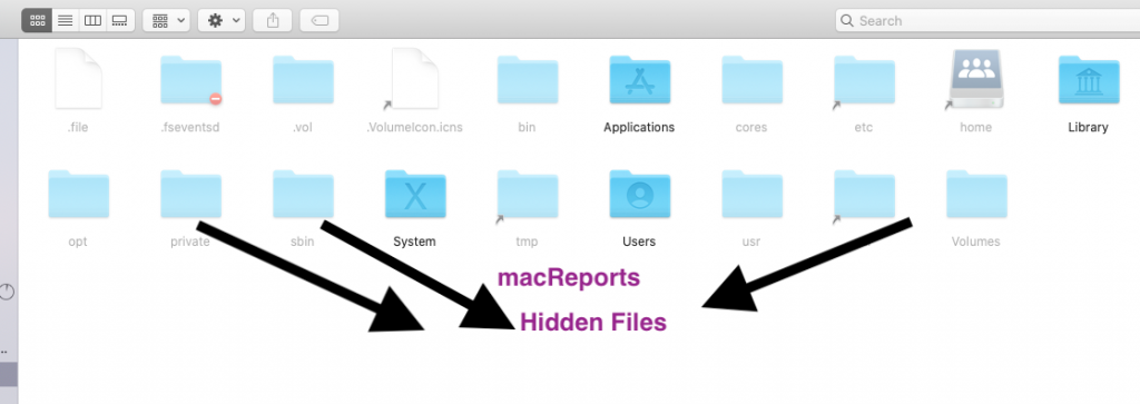 macOS Hidden Files