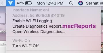 Wireless Diagnostics