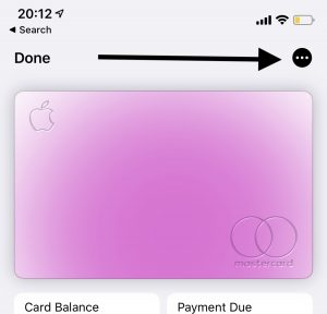 Apple Card More