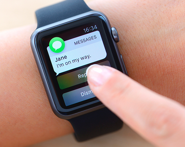 Apple Watch text notifications